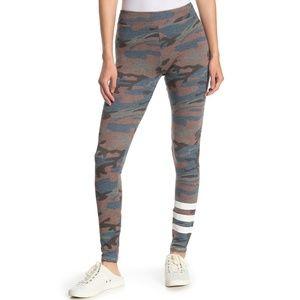 Sundry Camo Print Yoga Pant Leggings